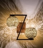 Fos Lighting Gold Steel Wall Light