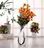 Artificial Daisy Flower Stems - Set of 4 Stems by Fourwalls
