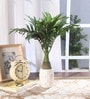 Green Synthetic Artificial Bonsai Palm Plant by Fourwalls