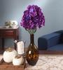 Multicolour Fabric Hydrangea Artificial Flower Bouquet by Fourwalls