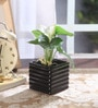Black Ceramic Vase by Fourwalls