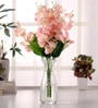 Pink Amazing Artificial Blossom Flower Bunch Set by Fourwalls
