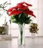 Red Gerbera Flower - Set of Two by Fourwalls