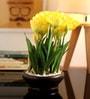 Fourwalls Yellow Tulip in Ceramic Vase
