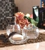 Foyer Glass Bathroom Set - Set of 3