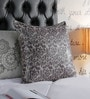 Foyer Silver Linen 20 x 20 Inch Bas Cushion Cover
