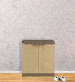 Freedom Mini Shoe Cabinet in Sandy Brown & Dark Brown Colour