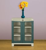 Freedom Small Cabinet in Olive Green Colour