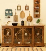 Fremont Cabinet in Natural Finish