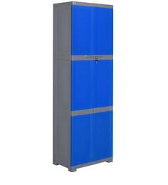 Freedom Storage Cabinet In Blue & Grey Colour
