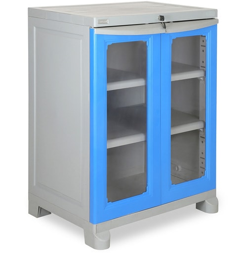 26ba19424fd Buy Freedom Small 2 (FS2) Storage Cabinet in Deep Blue   Grey Colour by  Nilkamal Online - Kids Storage Cabinets - Kids Storage - Kids Furniture -  Pepperfry ...