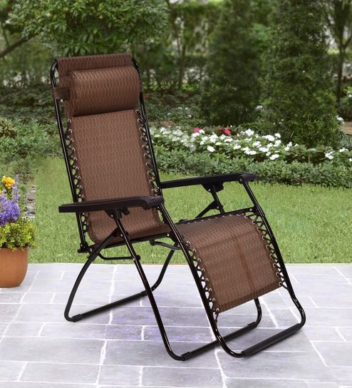 5c229df4e Buy Frolic Easy Chair in Purple and Golden Color By Nilkamal Online -  Folding Chairs - Folding Chairs - Furniture - Pepperfry Product