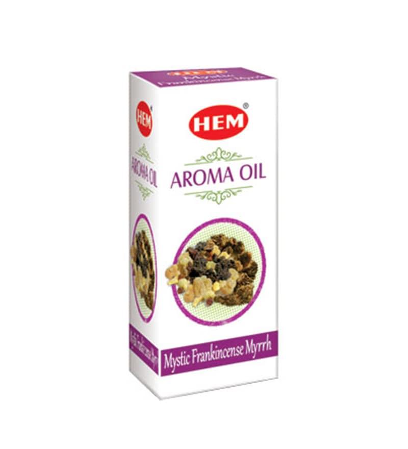 Frankincense Myrrh Mystic Aroma Oil by Hem