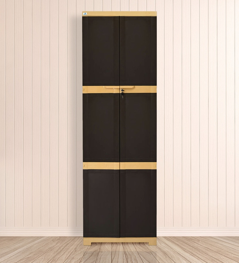 Buy Freedom Large Cabinet In Biscuit Colour By Nilkamal