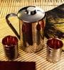Frestol Silver Copper and Steel 3-piece Jug - Set of 3