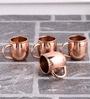 Frestol Copper 200 ML Tea Cup - Set of 4