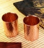 Frestol Copper 300 ML Handmade Glass - Set of 2