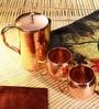 Frestol Copper 3-piece Handmade Jug - Set of 3