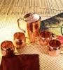 Frestol Copper 5-piece Handmade Jug - Set of 5