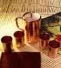 Frestol Copper 5-piece Handmade Jug - Set of 5