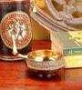 Frestol Golden Brass Large Designer Diya