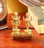 Frestol Golden Brass Laxmi Vishnu