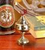 Frestol Golden Brass Om Devi Jyot