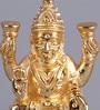 Frestol Golden Brass Small Ganesh Lakshmi