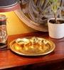 Frestol Golden Brass Thali Pooja