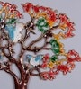 Frestol Multicolour Aluminium Tree Wall Hanging