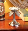 Frestol Silver Aluminium Candle Stand