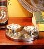 Frestol Silver Steel Twin Tea Light Holder