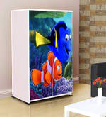 Fundoo Fish Kids' Wardrobe in Multicolour