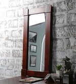 Oak Mango Wood Framed Mirror