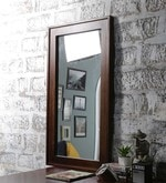Teak Mango Wood Framed Mirror