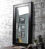 Walnut Mango Wood Framed Mirror