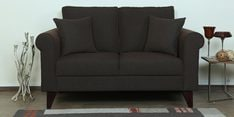 Fuego Two Seater Sofa in Chestnut Brown Colour
