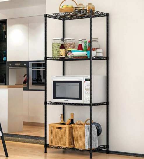Buy Steel Kitchen Rack 47 X 13 8 Inches By Homeland Online