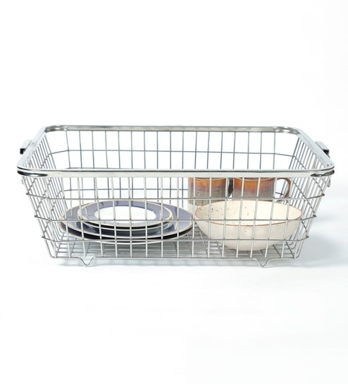 Furntec Steel Kitchen Basket