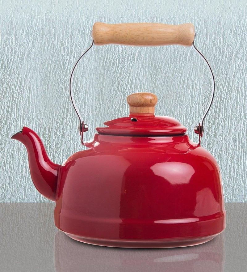 Fujihoro 2300 ML Teapot - Red