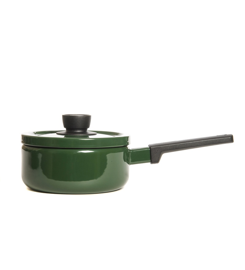 2200 ML Sauce/Milk Pan - Olive Green by Fujihoro