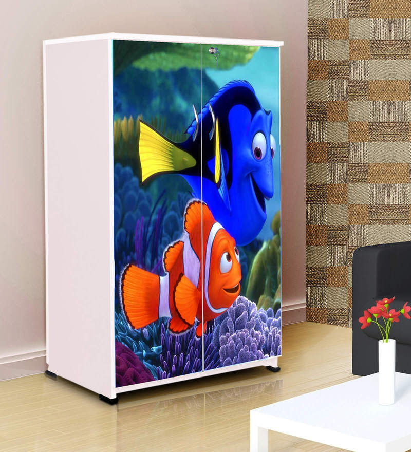 Buy Fundoo Fish Kids Wardrobe In Multicolour By Bigsmile