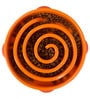 ABK Imports Fun Feeder Slow Feed Bowl Orange