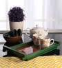 Furnicheer Green Mango Wood Medium Tray