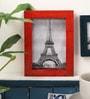 Red Mango Wood 5 x 0.5 x 7 Inch Photo Frame by Furnicheer