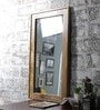 Brown Mango Wood Framed Mirror by Furniselan