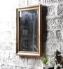 Brown Mango Wood Framed Mirror by Furniselan