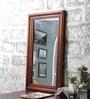 Oak Mango Wood Framed Mirror by Furniselan