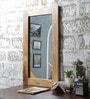 Teak Mango Wood Framed Mirror by Furniselan