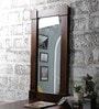 Furniselan Teak Mango Wood Framed Mirror